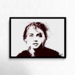 Black Veil wallart print