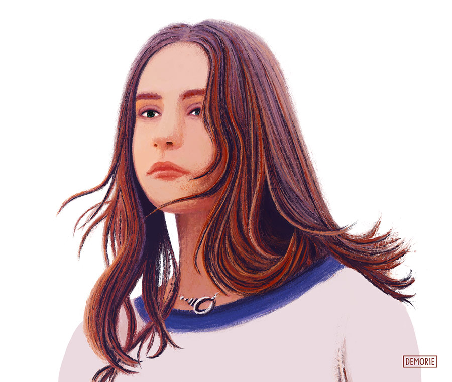 Clairo - Claire Cottrill - Portrait drawing