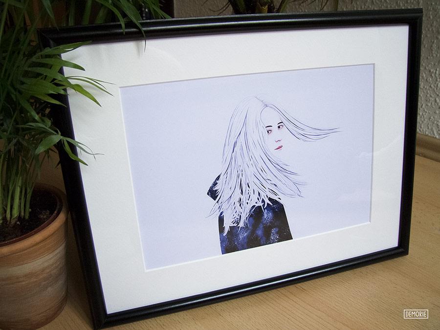 I will neber Forget you - wallart print