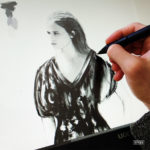 Alicia Vikander - Portrait drawing