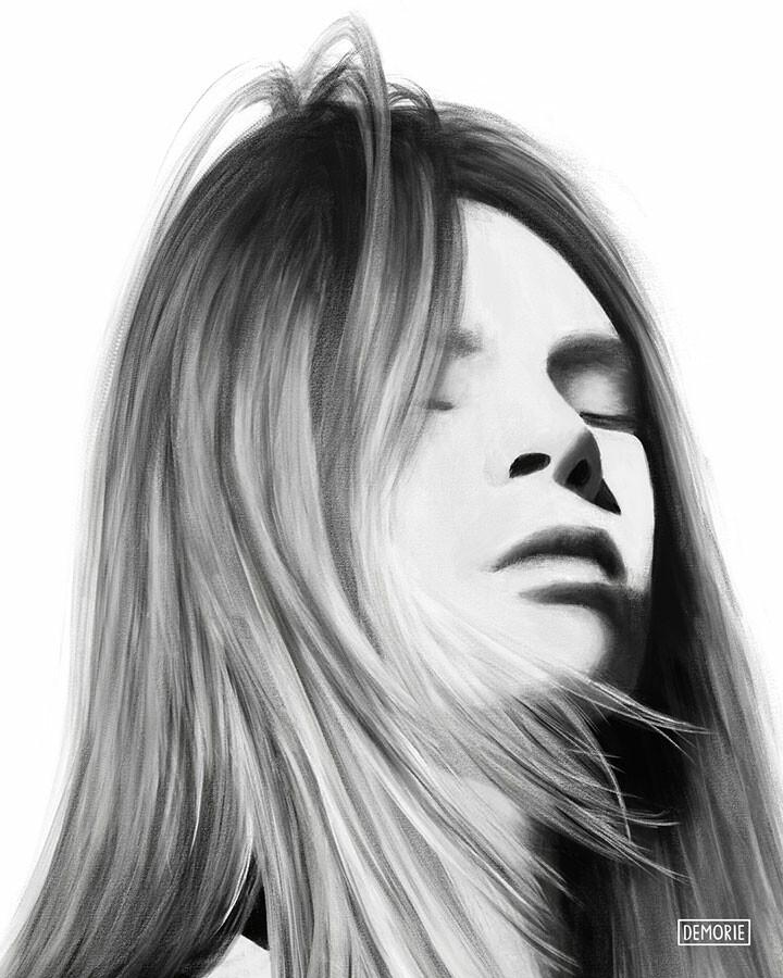Digital Portrait Painting