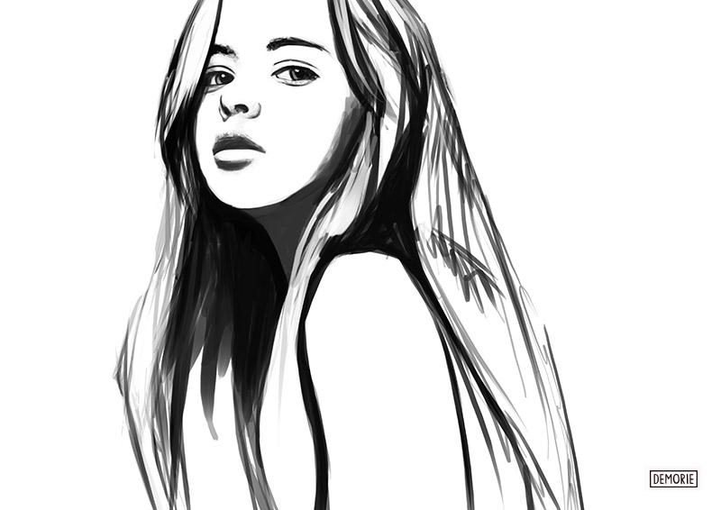 Kristina Pimenova - Digital Portrait Drawing