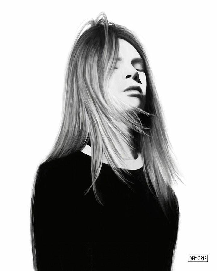 Digital Portrait Drawing