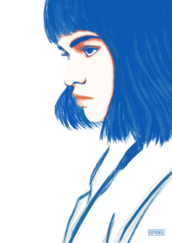 Misha Hart - Digital Portrait Drawing