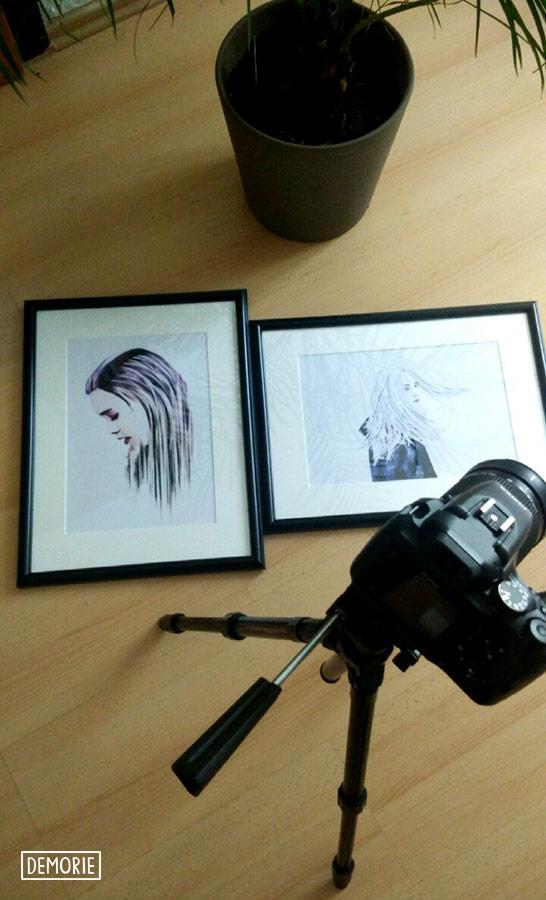 Digital Art photography wallart print