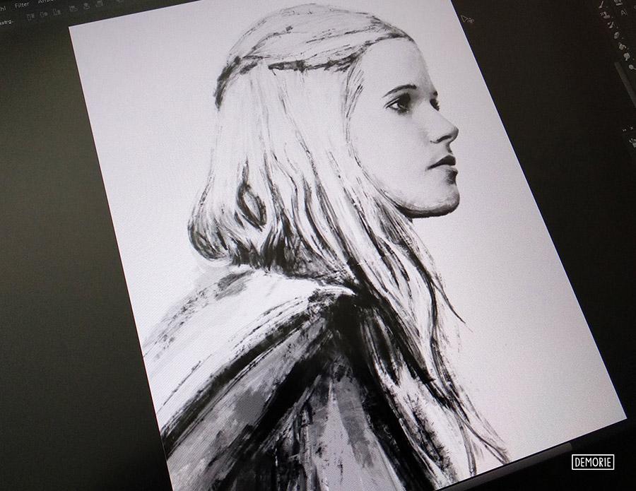 Gabriella Wilde - Work in progress