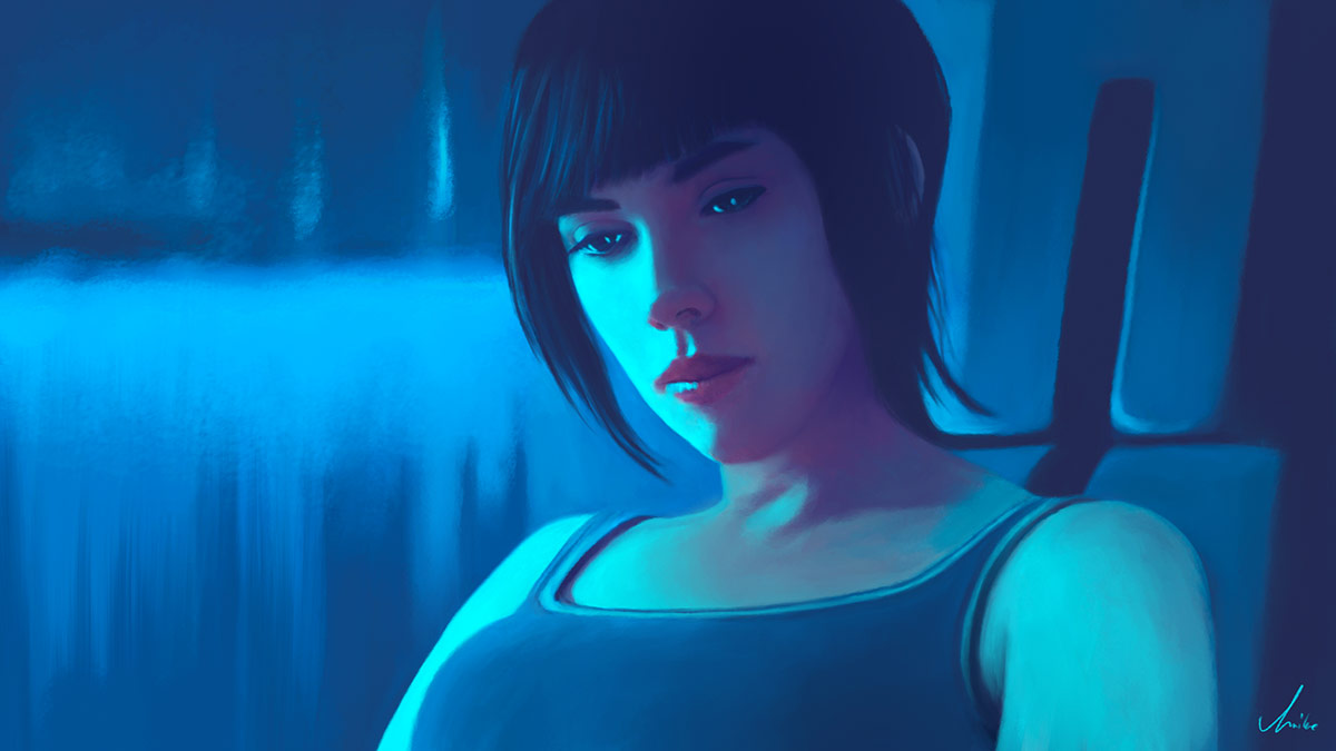Ghost in the Shell - Motoko Kusanagi Scarlett Johansson