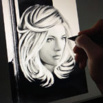 Katheryn Winnick Portrait work in progress