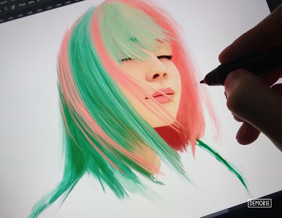 Painting Work in Progress