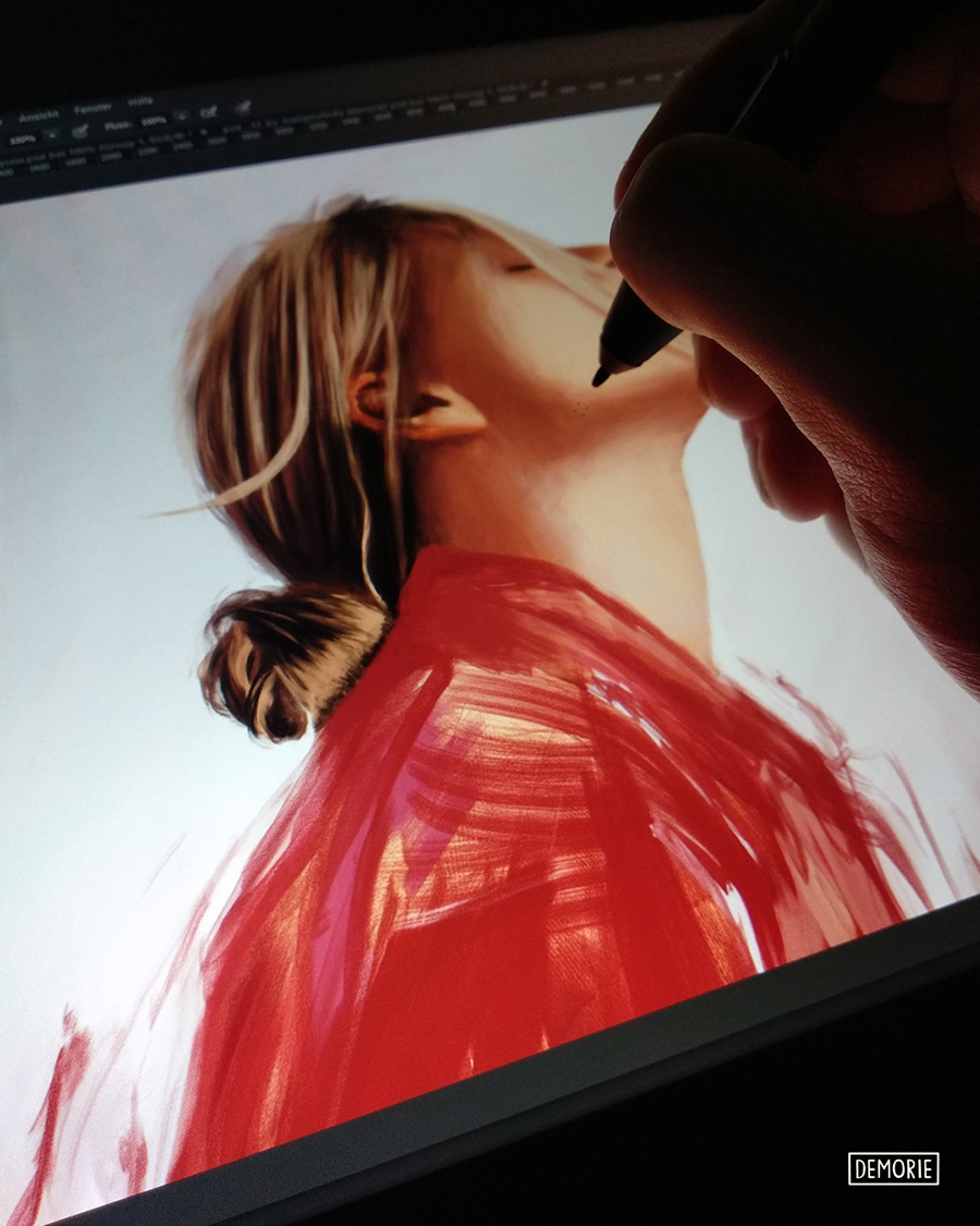 Digital Painting Work in Progress