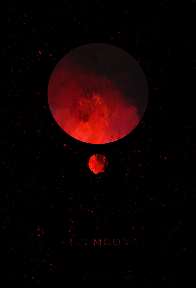 Redmoon Digital Painting